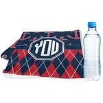 Anchors & Argyle Sports & Fitness Towel (Personalized)