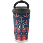 Anchors & Argyle Stainless Steel Travel Mug (Personalized)