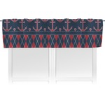 Anchors & Argyle Valance (Personalized)
