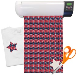 Anchors & Argyle Heat Transfer Vinyl Sheet (12