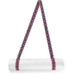 Anchors & Argyle Yoga Mat Strap (Personalized)
