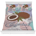 Coconut and Leaves Comforters (Personalized)