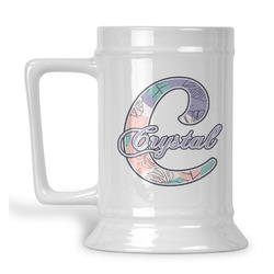 Coconut and Leaves Beer Stein (Personalized)