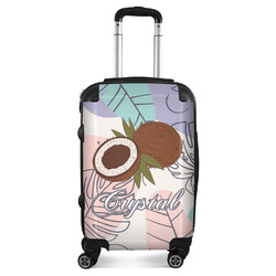 Coconut and Leaves Suitcase (Personalized)