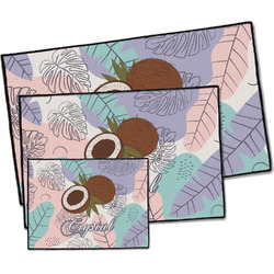Coconut and Leaves Door Mat (Personalized)