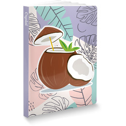Coconut and Leaves Softbound Notebook (Personalized)