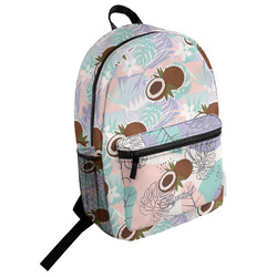 Coconut and Leaves Student Backpack (Personalized)