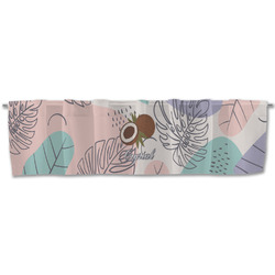 Coconut and Leaves Valance (Personalized)