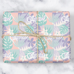 Coconut and Leaves Wrapping Paper (Personalized)