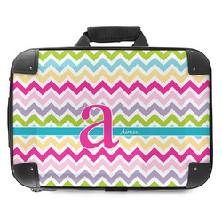 Colorful Chevron Hard Shell Briefcase (Personalized)