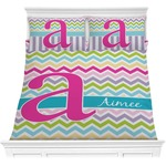 Colorful Chevron Comforters (Personalized)