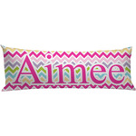 Colorful Chevron Body Pillow Case (Personalized)