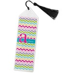Colorful Chevron Book Mark w/Tassel (Personalized)