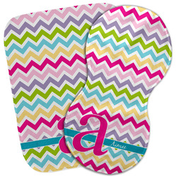 Colorful Chevron Burp Cloth (Personalized)