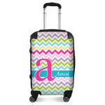 Colorful Chevron Suitcase (Personalized)