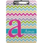 Colorful Chevron Clipboard (Personalized)
