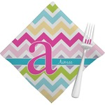 Colorful Chevron Napkins (Set of 4) (Personalized)