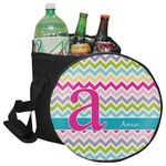 Colorful Chevron Collapsible Cooler & Seat (Personalized)