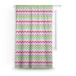 Colorful Chevron Curtain (Personalized)