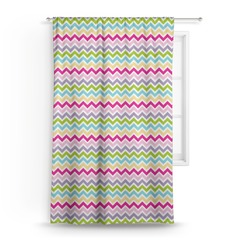 Colorful Chevron Curtain (Personalized)