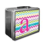 Colorful Chevron Lunch Box (Personalized)