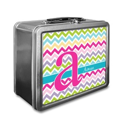 Colorful Chevron Lunch Box (Personalized)