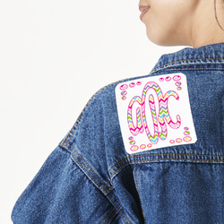 Colorful Chevron Large Custom Shape Patch (Personalized)