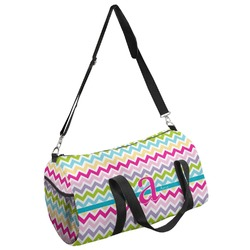 Colorful Chevron Duffel Bag (Personalized)
