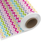 Colorful Chevron Custom Fabric by the Yard (Personalized)