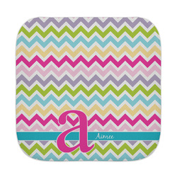 Colorful Chevron Face Towel (Personalized)