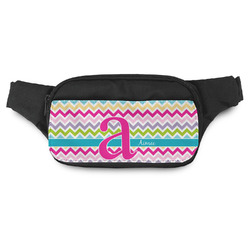 Colorful Chevron Fanny Pack (Personalized)