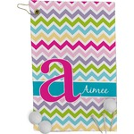 Colorful Chevron Golf Towel - Full Print (Personalized)