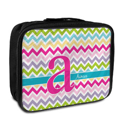 Colorful Chevron Insulated Lunch Bag (Personalized)