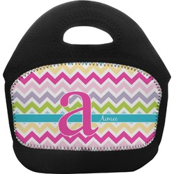 Colorful Chevron Toddler Lunch Tote (Personalized)