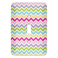 Colorful Chevron Light Switch Covers - Multiple Toggle Options Available (Personalized)