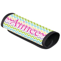 Colorful Chevron Luggage Handle Cover (Personalized)