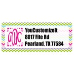 Colorful Chevron Return Address Labels (Personalized)