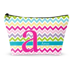 Colorful Chevron Makeup Bags (Personalized)