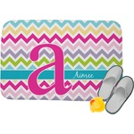 Colorful Chevron Memory Foam Bath Mat (Personalized)