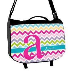 Colorful Chevron Messenger Bag (Personalized)