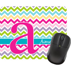 Colorful Chevron Mouse Pad (Personalized)