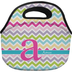 Colorful Chevron Lunch Bag (Personalized)