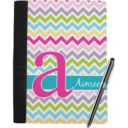 Colorful Chevron Notebook Padfolio (Personalized)