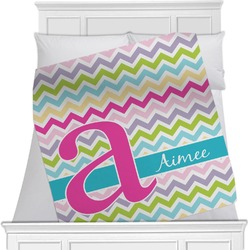 Colorful Chevron Blanket (Personalized)
