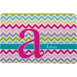 Colorful Chevron Comfort Mat (Personalized)