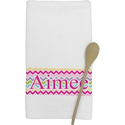 Colorful Chevron Kitchen Towel (Personalized)