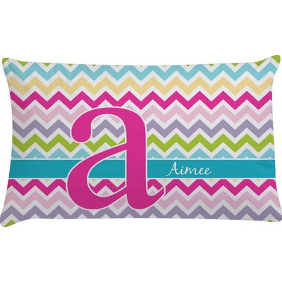 Colorful Chevron Pillow Case (Personalized)