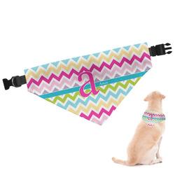 Colorful Chevron Dog Bandana (Personalized)