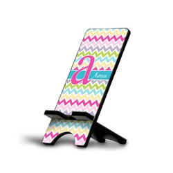 Colorful Chevron Cell Phone Stands (Personalized)