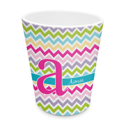 Colorful Chevron Plastic Tumbler 6oz (Personalized)